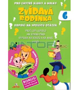 Zvídavá rodinka 06 DVD