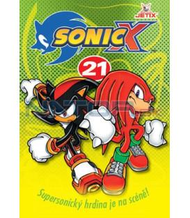 Sonic X 21 DVD