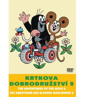 Krtkova dobrodružství 02 DVD
