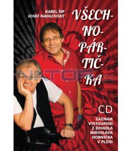 Všechnopártička ( CD )