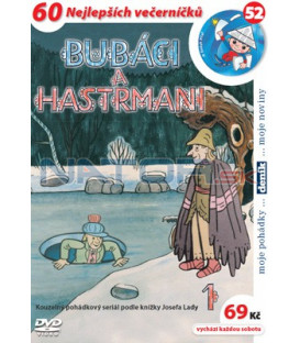 Bubáci a hastrmani 01 DVD