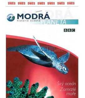 Modrá planeta: historie oceánů 2 - 3. Širý oceán / 4. Zamrzlé moře (The Blue Planet) DVD