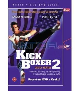 Kickboxer II - Cesta zpátky DVD