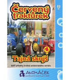Červený traktůrek 04 DVD