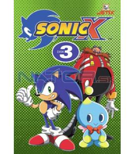Sonic X 03 DVD