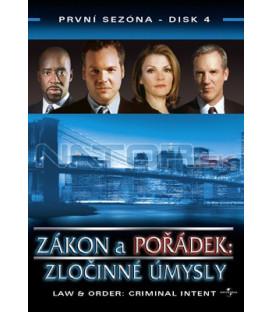 Zákon a pořádek: Zločinné úmysly 04 DVD