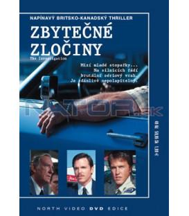 Zbytečné zločiny DVD