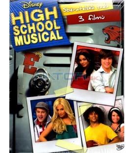 High School Musical Kolekce:Muzikál ze střední 1,2,3 3-DVD