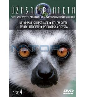 Úžasná planeta 04 DVD