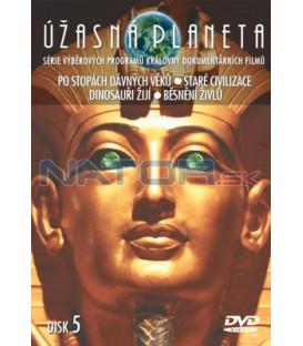Úžasná planeta 05 DVD