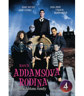 Nová Addamsova rodina 04 DVD