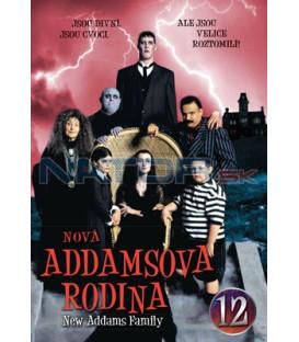Nová Addamsova rodina 12 DVD