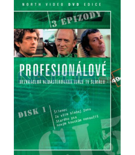 Profesionálové 01 DVD