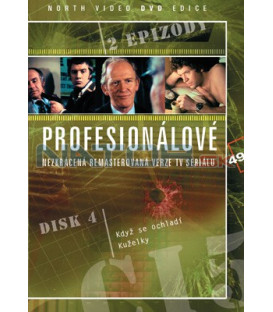 Profesionálové 04 DVD