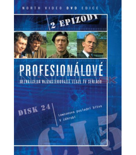 Profesionálové 24 DVD