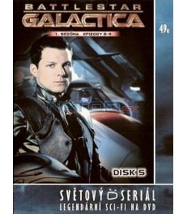 Battlestar Galactica - disk 5 - 1. sezóna, epizody 8 a 9 (Battlestar Galactica)
