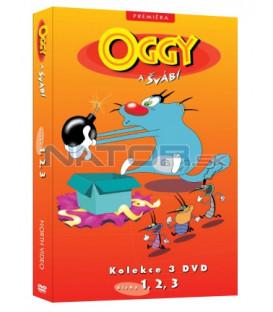 Oggy a švábi kolekce 3 DVD (1, 2, 3)