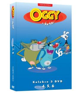 Oggy a švábi kolekce 3 DVD (4, 5, 6)