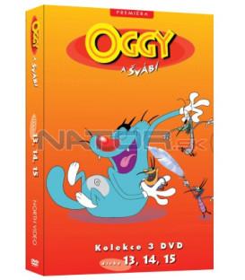 Oggy a švábi kolekce 3 DVD (13, 14, 15)