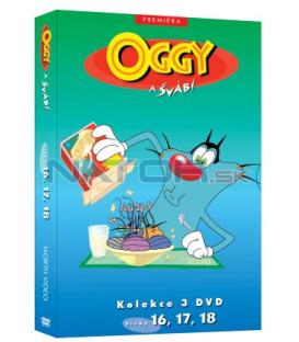 Oggy a švábi kolekce 3 DVD (16, 17, 18)