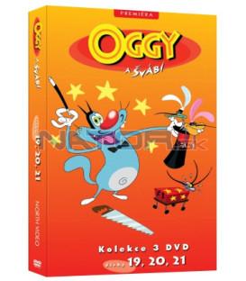 Oggy a švábi kolekce 3 DVD (19, 20, 21)