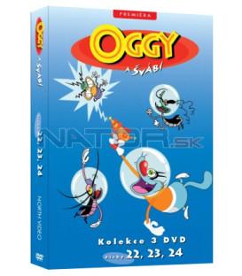 Oggy a švábi kolekce 3 DVD (22, 23, 24)