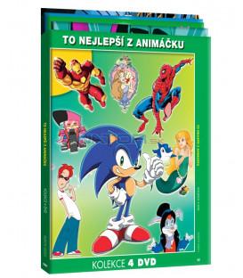 To nejlepší z Animáčku / kolekce 4 DVD