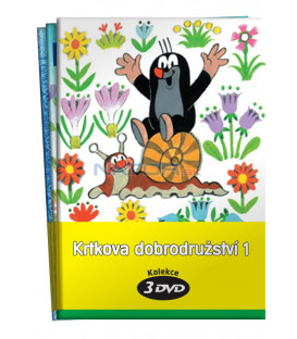 Krtkova dobrodružství 1.  (1 - 3) / kolekce 3 DVD