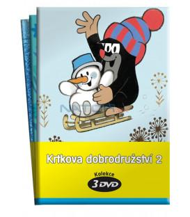 Krtkova dobrodružství 2.  (3 - 5) / kolekce 3 DVD