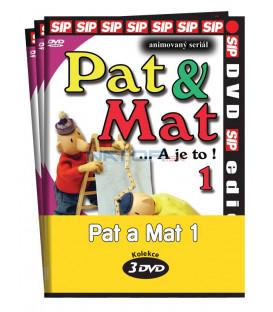 Pat a Mat 1.  (1 - 3) / kolekce 3 DVD