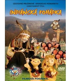 Indiánská pohádka Divadélko Romaneto DVD