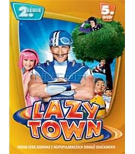 LAZY TOWN (Lazy Town) – II. SÉRIE 5. DVD – SLIM BOX