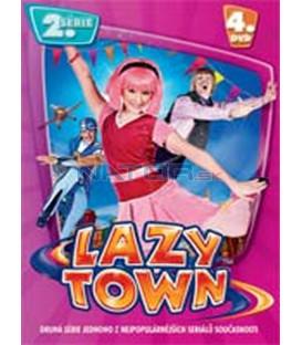 LAZY TOWN (Lazy Town) – II. SÉRIE 4. DVD – SLIM BOX
