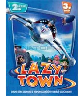 LAZY TOWN (Lazy Town) – II. SÉRIE 3. DVD – SLIM BOX