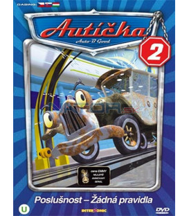 Autíčka 2 (Auto B-Good 2) DVD