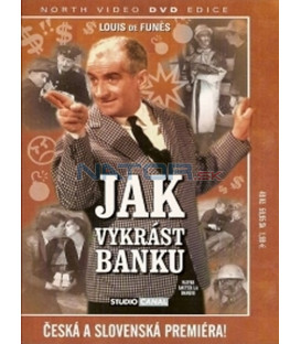 Jak vykrást banku (Faites sauter la banque!) DVD