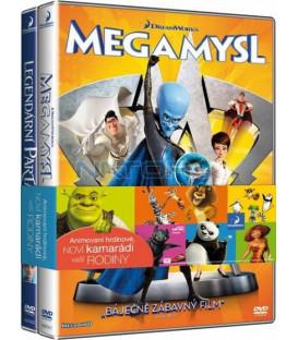 Kolekce: Megamysl + Legendární parta 2 DVD