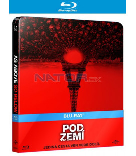 Pod zemí (As Above, So Below)  Blu-ray STEELBOOK