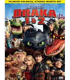 Ako vycvičiť DRAKA 1 + 2 (How to Train Your Dragon 1 + 2) KOLEKCE 2XDVD