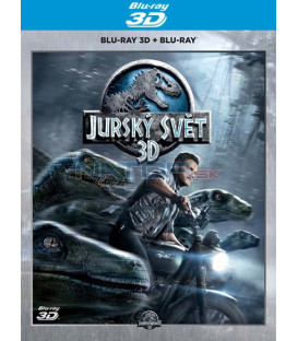 Jurský svet (Jurassic World) Blu-ray 3D + 2D