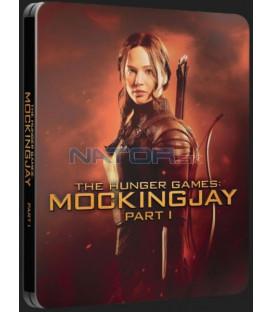Hunger Games: Síla vzdoru 1. část (Drozdajka 1) (The Hunger Games: Mockingjay - Part 1) Blu-ray steelbook