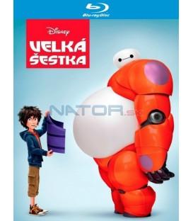 Velká šestka (Big Hero 6) Blu-ray