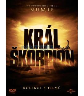 KRÁL ŠKORPION 1-4 KOLEKCE - 4 DVD