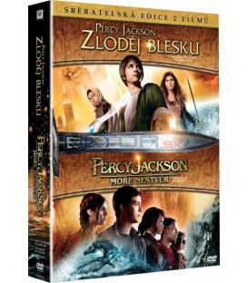 2 DVD Percy Jackson 1+2 DVD