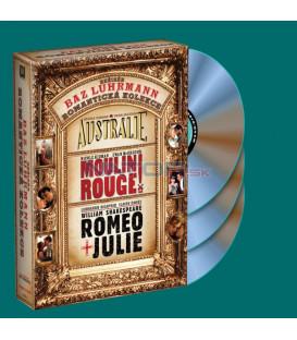 3 DVD Austrálie + Moulin Rouge + Romeo a Julie (Baz Luhrmann kolekce) DVD