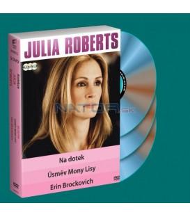 3 DVD Na dotek / Úsměv Mony Lisy / Erin Brockovich DVD