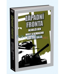 3 DVD Nejdelší den / Hartova válka / Most u Remagenu DVD