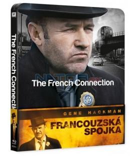 Francouzská spojka Blu-ray Steelbook