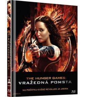 Hunger Games : Vražedná Pomsta (Skúška ohňom) (digibook) Blu-ray