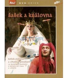 Šašek a královna DVD